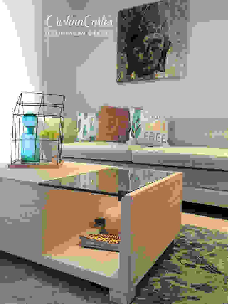 Sala de Cristina Cortés Diseño y Decoración Moderno
