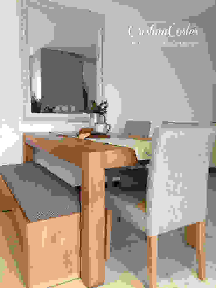 Comedor de Cristina Cortés Diseño y Decoración Moderno Madera Acabado en madera