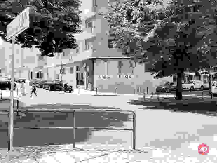 Exterior ARCHDESIGN LX Clínicas minimalistas Vidro Multicolor