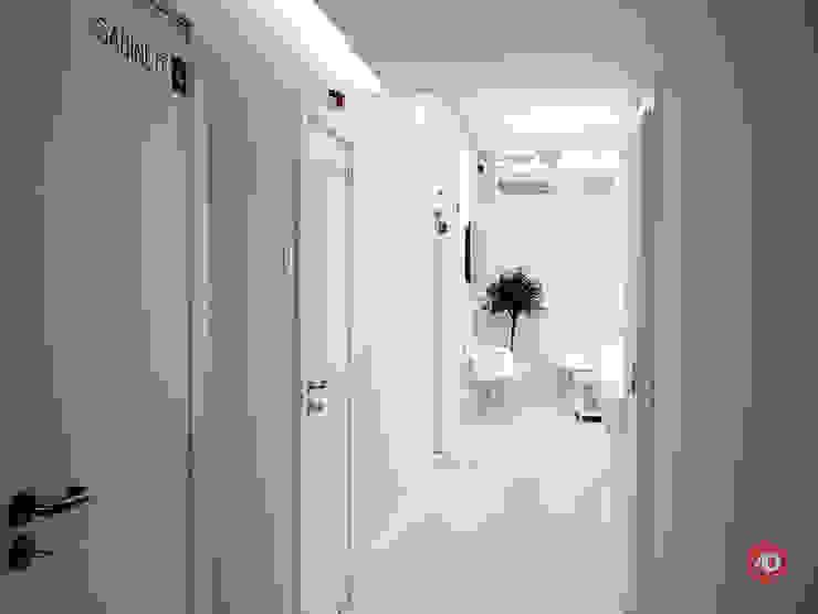 Acesso gabinetes ARCHDESIGN LX Clínicas minimalistas MDF Cinzento
