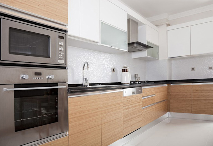 Kitchen by homify, Modern Wood Wood effect