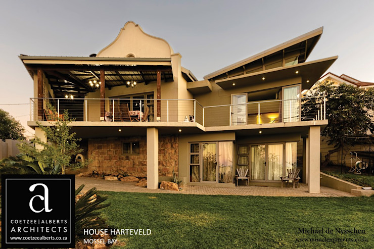 House Harteveld:   by Coetzee Alberts Architects,