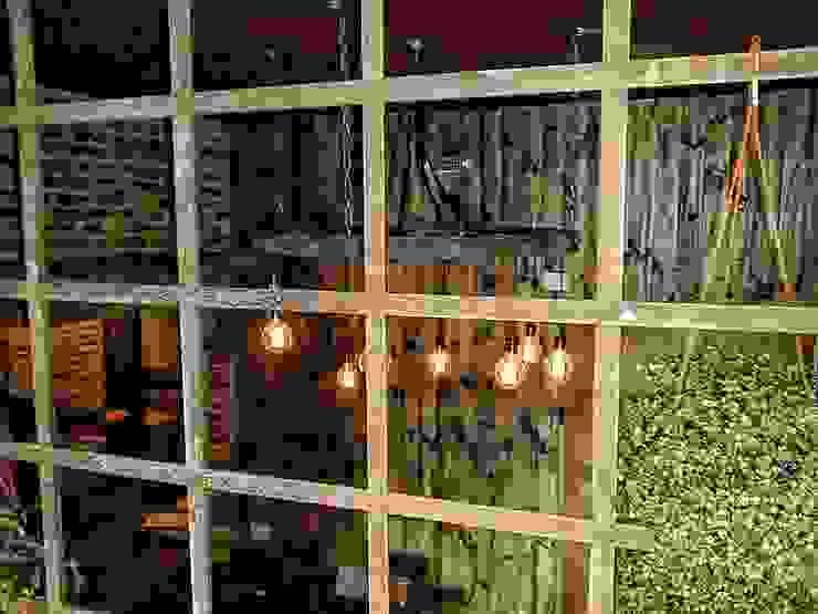 LAMPARA COLGANTE ESTILO INDUSTRIAL:  de estilo industrial por Lamparas Vintage Vieja Eddie,Industrial