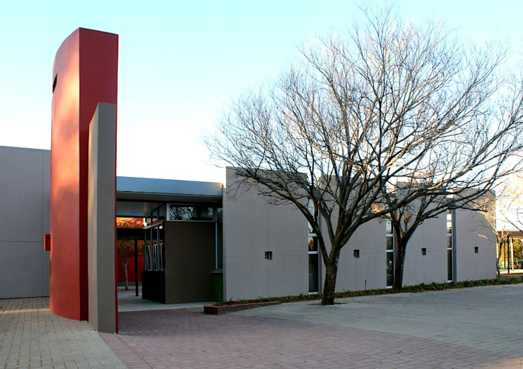 Church, Heuwelsig, Bloemfontein, South Africa (after additions) by Smit Architects