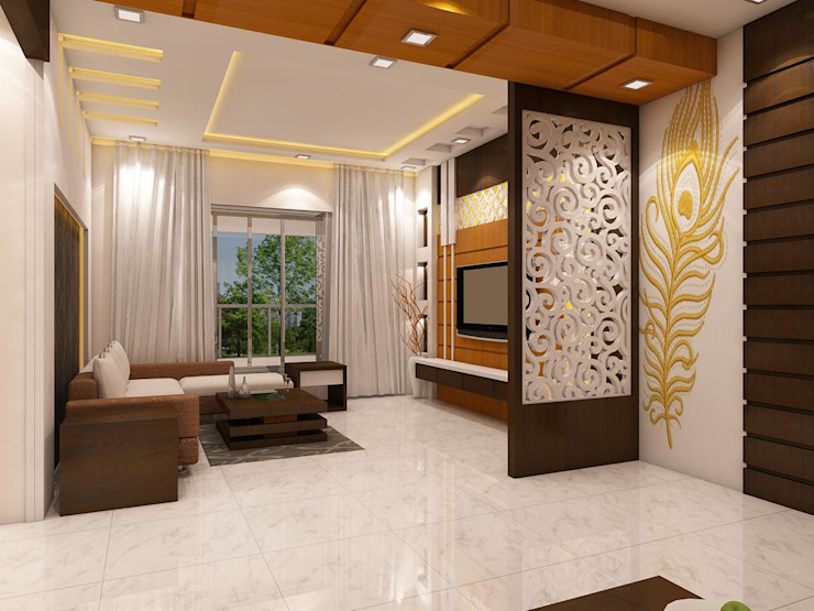 An Artistically Designed Apartment In Kolkata