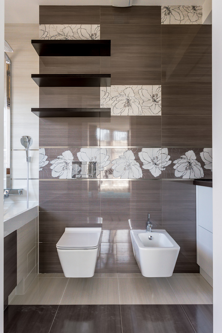 Bellarte interior studio 浴室 White