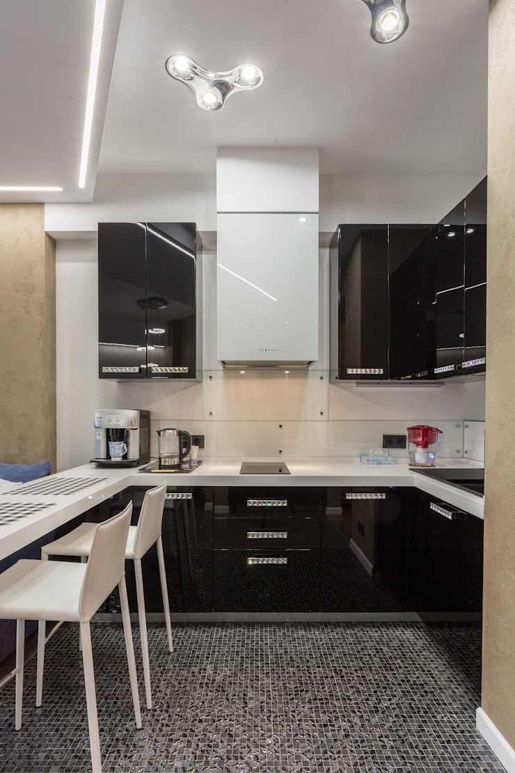 Cuisine minimaliste par Bellarte interior studio Minimaliste