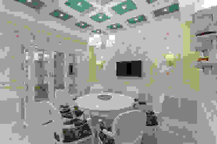 Bellarte interior studio Dining room White