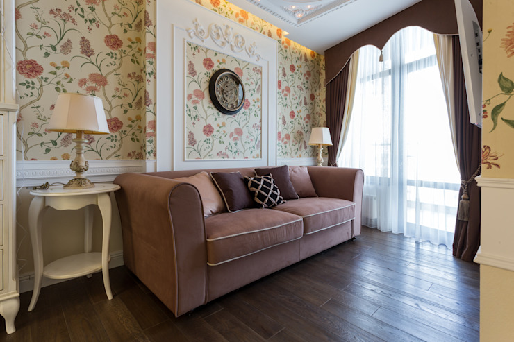 Bellarte interior studio Living room Brown