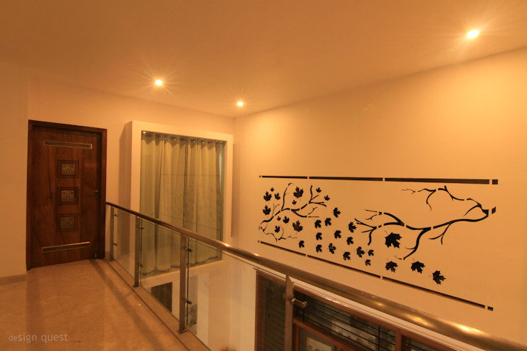 Gowrishankar Residence Modern walls & floors by Design Quest Architects Modern