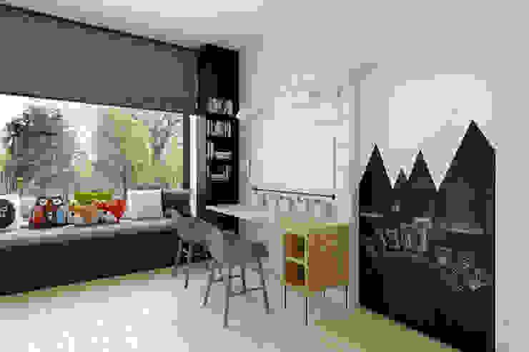 ห้องนอนเด็ก โดย INSIDEarch, โมเดิร์น