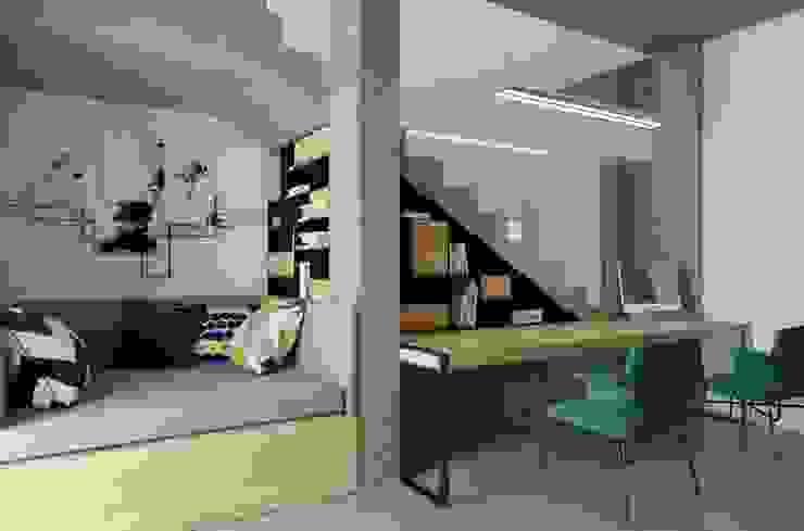 Modern study/office by INSIDEarch Modern