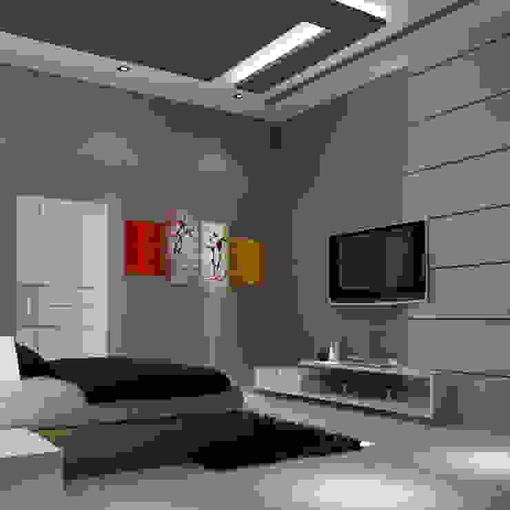 Residence @ vizag: modern  by SunDial Associates,Modern