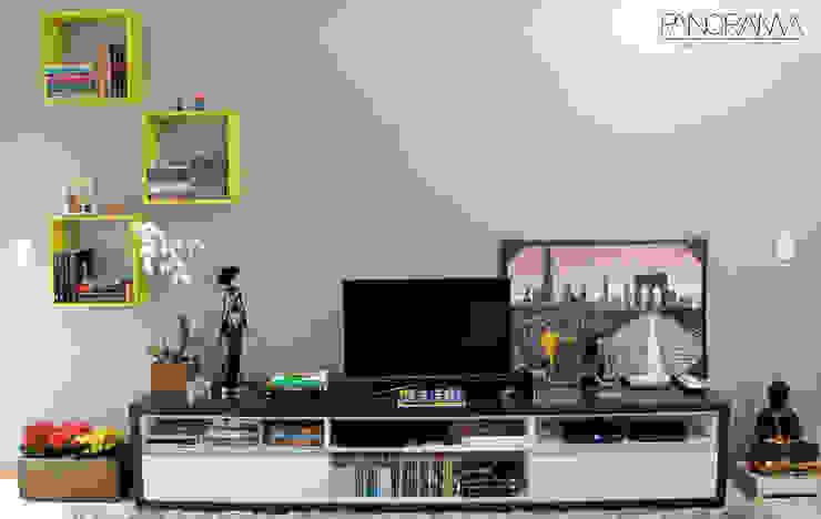 Sala de estar Cozinhas ecléticas por PANORAMA Arquitetura & Interiores Eclético