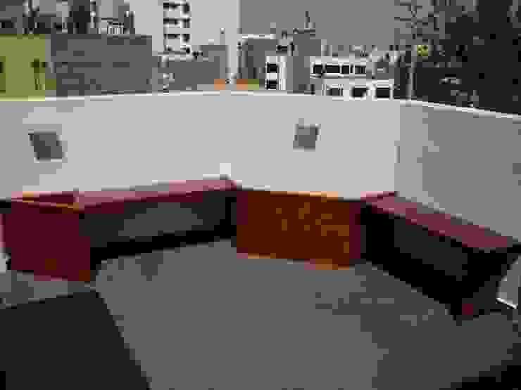 Arkimel Balkon, Beranda & Teras Modern