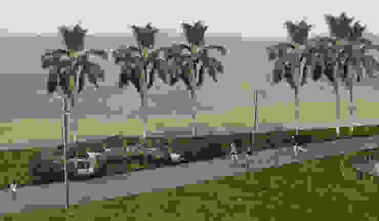 Proyecto de Forestacion. Barrio Cerrado Jardines clásicos de BAIRES GREEN Clásico