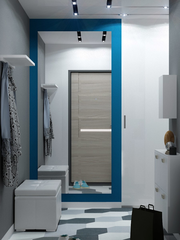 ДизайнМастер Modern Corridor, Hallway and Staircase