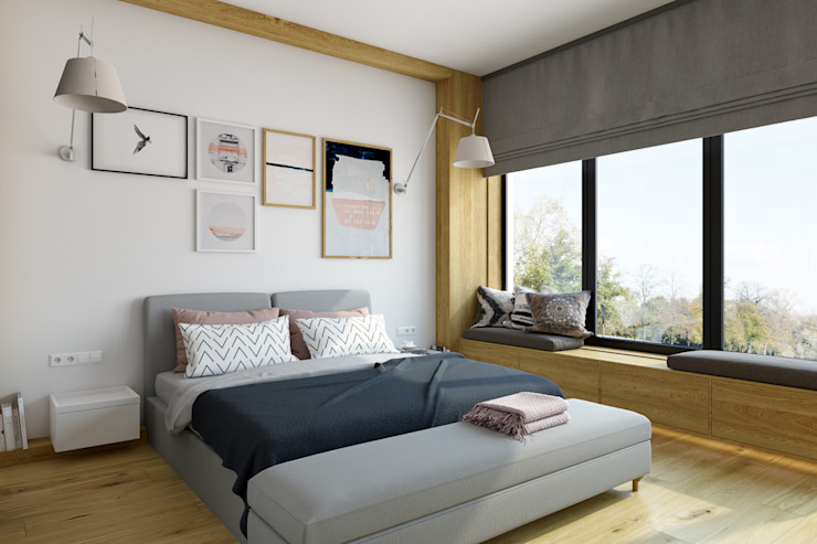 Modern Bedroom by INSIDEarch Modern