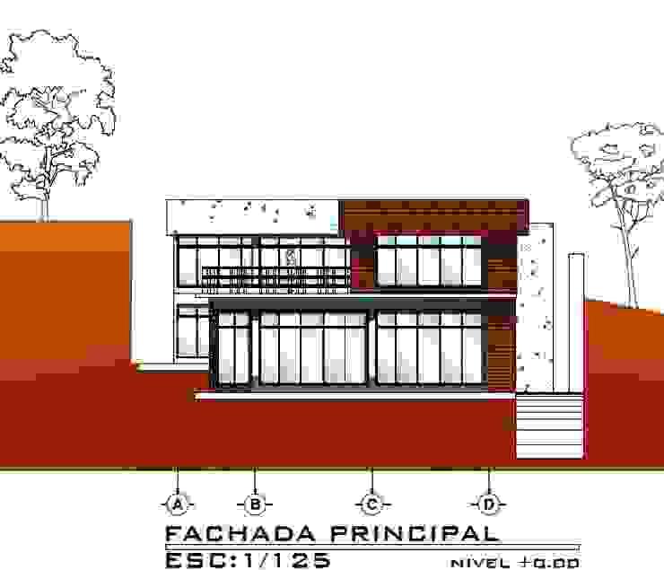 Casa ZEN Casas modernas de Arquitecto Eduardo Carrasquero Moderno Concreto