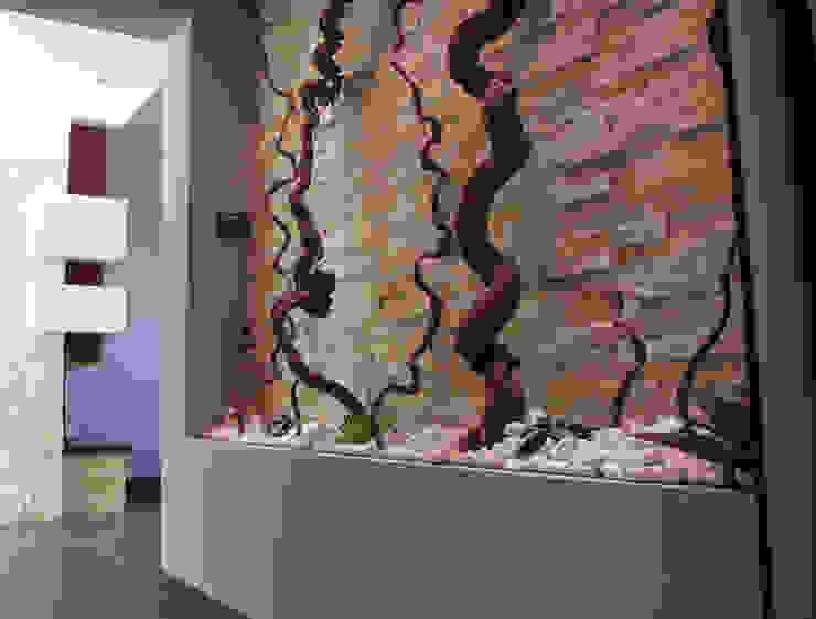 Officina design Corridor, hallway & stairsAccessories & decoration Stone Grey