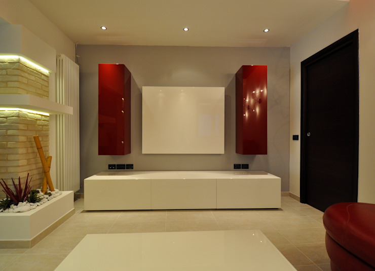 Officina design SalonMeubles télévision & multimédia Blanc