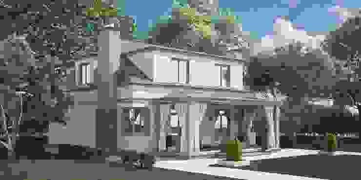 Проект дома в итальянском стиле Дома в средиземноморском стиле от homify Средиземноморский