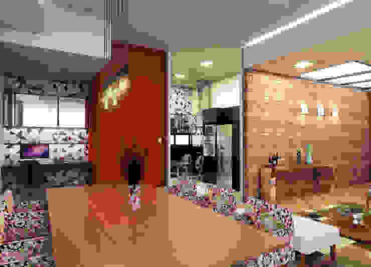 Cocinas de estilo  por Lozí - Projeto e Obra, Moderno