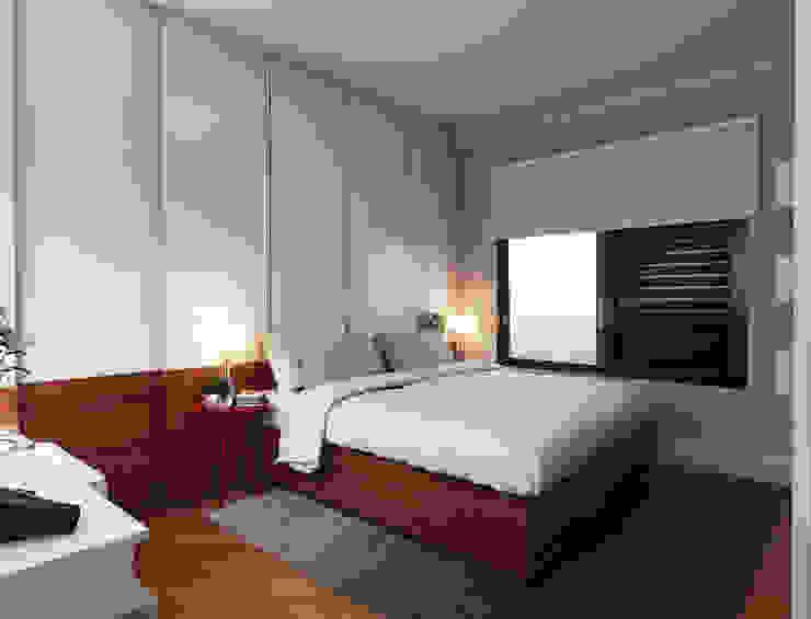 Minimalist bedroom by Lozí - Projeto e Obra Minimalist
