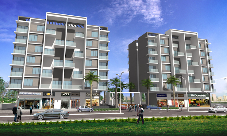 Residential project—Architectural Design Services: modern  by Inspire Interiors & Archcons India Pvt Ltd,Modern