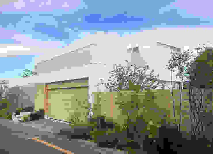 (有)ハートランド Moderne Häuser Weiß