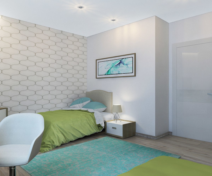 ДизайнМастер Eclectic style bedroom