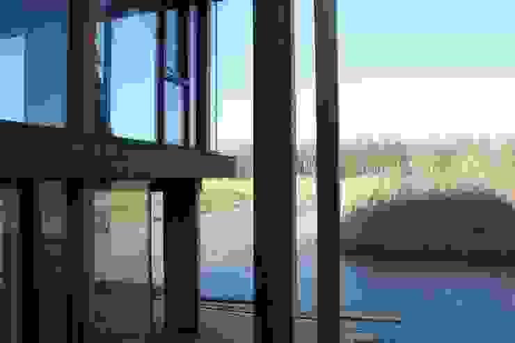 Woning met werkruimte, Homerus kwartier Almere Poort Moderne balkons, veranda's en terrassen van Architectenbureau Jules Zwijsen Modern