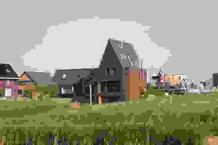 Woning met werkruimte, Homerus kwartier Almere Poort Moderne huizen van Architectenbureau Jules Zwijsen Modern