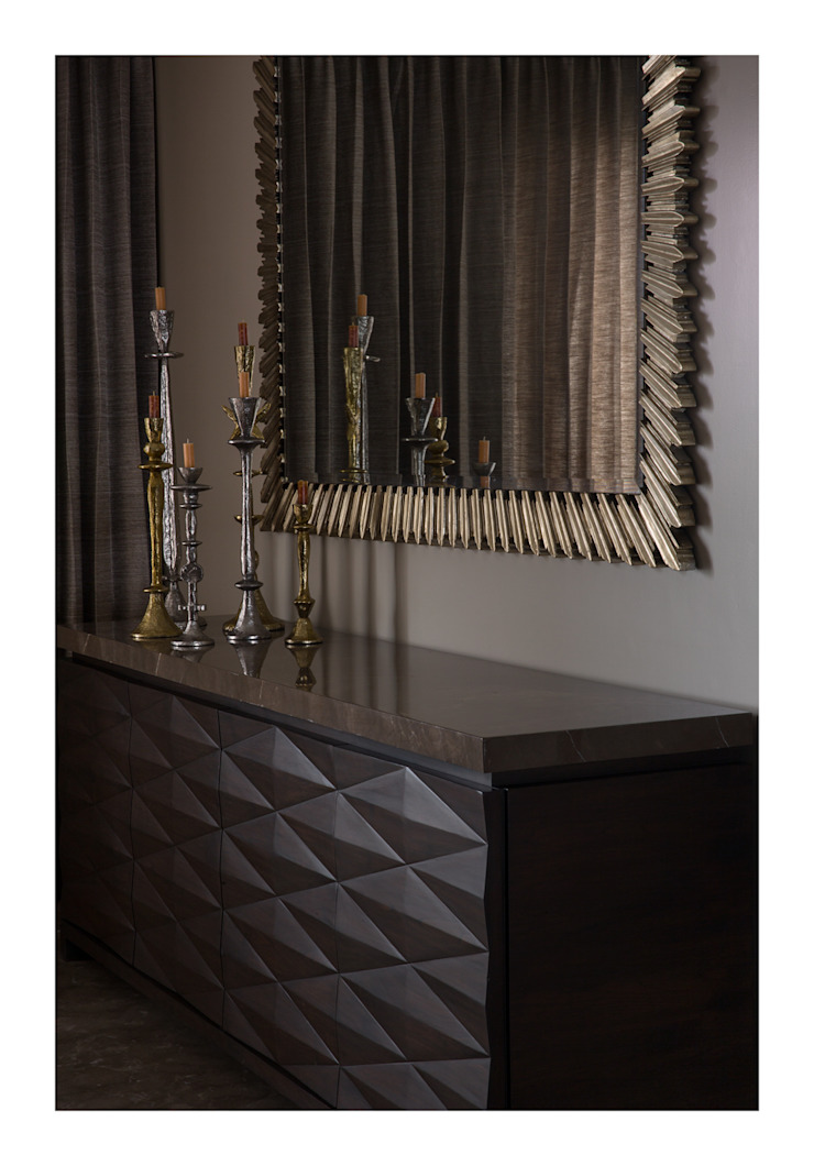 Homes Eclectic style dining room by Rakeshh Jeswaani Interior Architects Eclectic