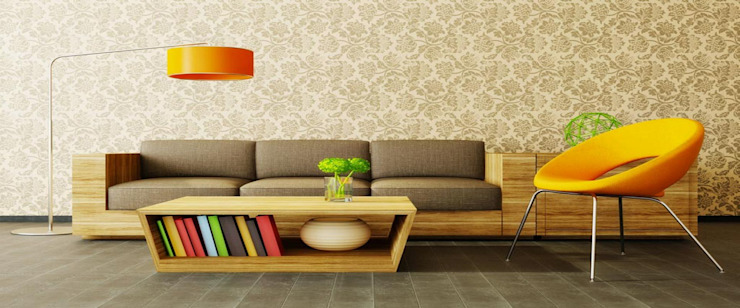House Interiors Asian style living room by Innovate Interiors & Fabricators Asian