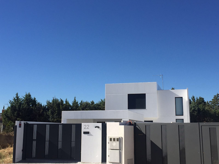 Moderne huizen van MODULAR HOME Modern