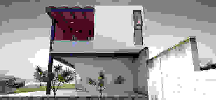 โดย Vintark arquitectura โมเดิร์น อิฐหรือดินเผา