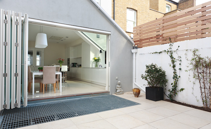 Aproveitar espaços escondidos Jardins modernos por Architect Your Home Moderno