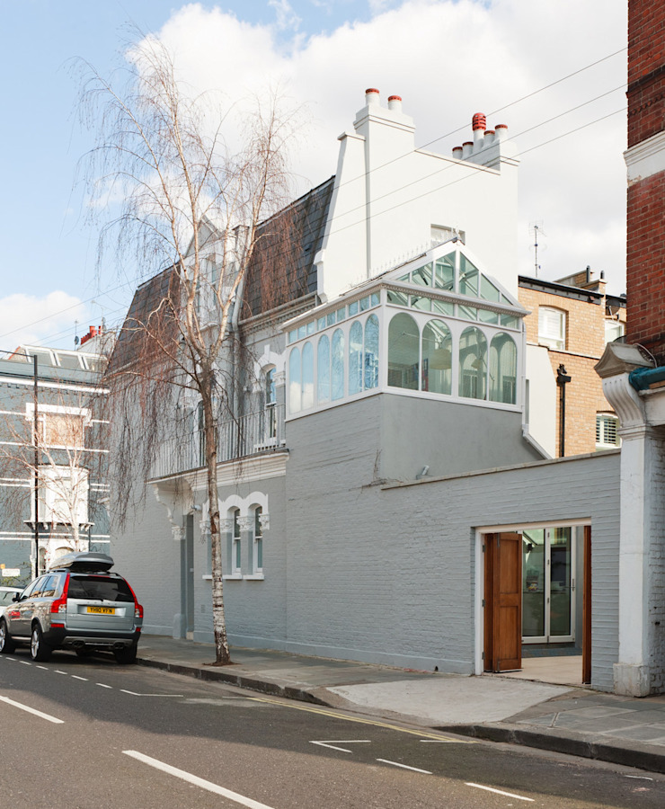 Aproveitar espaços escondidos Casas modernas por Architect Your Home Moderno