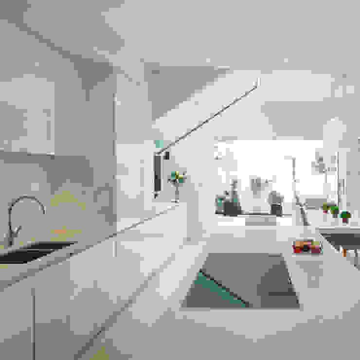 Aproveitar espaços escondidos: Cozinhas  por Architect Your Home,Moderno