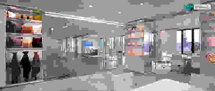 Centros Comerciais modernos por Axis Group Of Interior Design Moderno