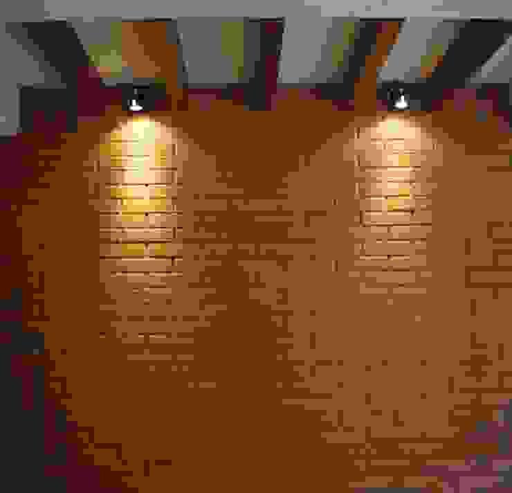 Muro de ladrillo Cocinas eclécticas de LOFT ESTUDIO arquitectura y diseño Ecléctico Ladrillos
