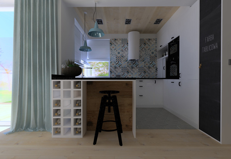 Projekt Kolektyw Sp. z o.o. Kitchen