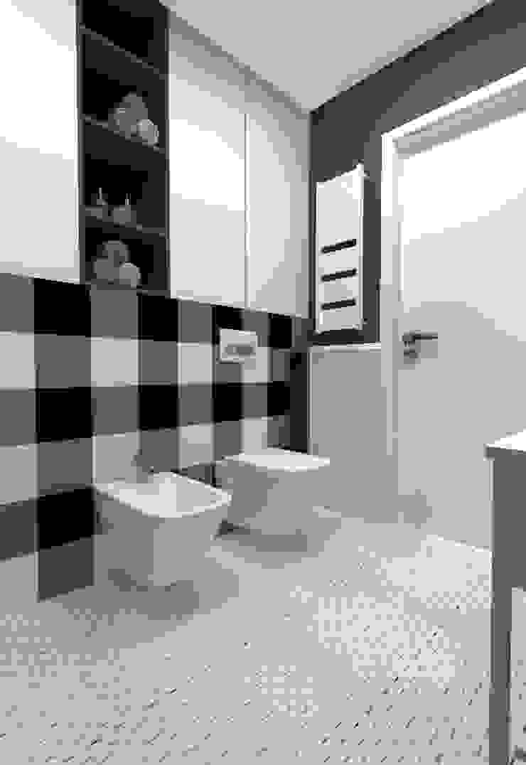 Projekt Kolektyw Sp. z o.o. Scandinavian style bathroom
