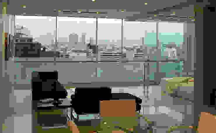Sala comedor Salones modernos de Arquitectos M253 Moderno