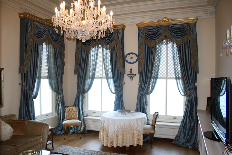 Oturma Odası Klasik Oturma Odası Öztek Mimarlık Restorasyon İnşaat Mühendislik Klasik
