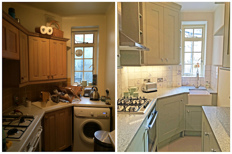 Kitchen - Before & After Dapur Gaya Country Oleh Absolute Project Management Country
