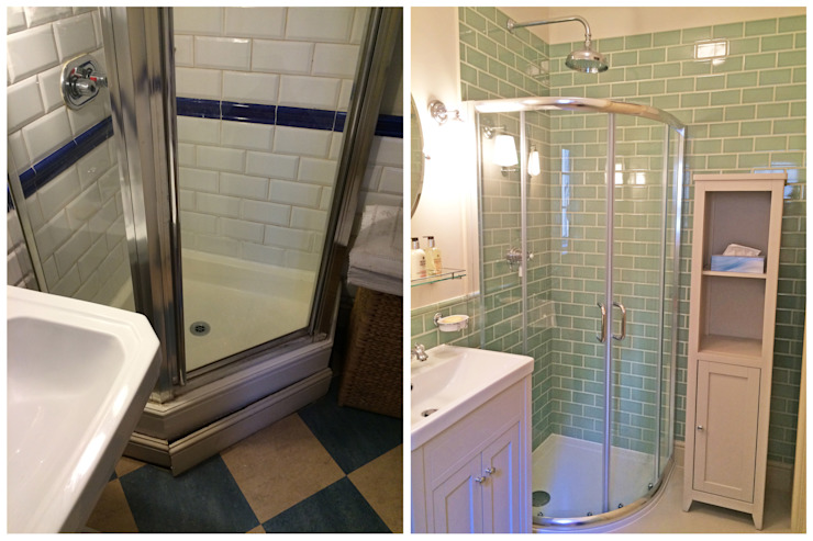 Bathroom - Before & After by Absolute Project Management Country