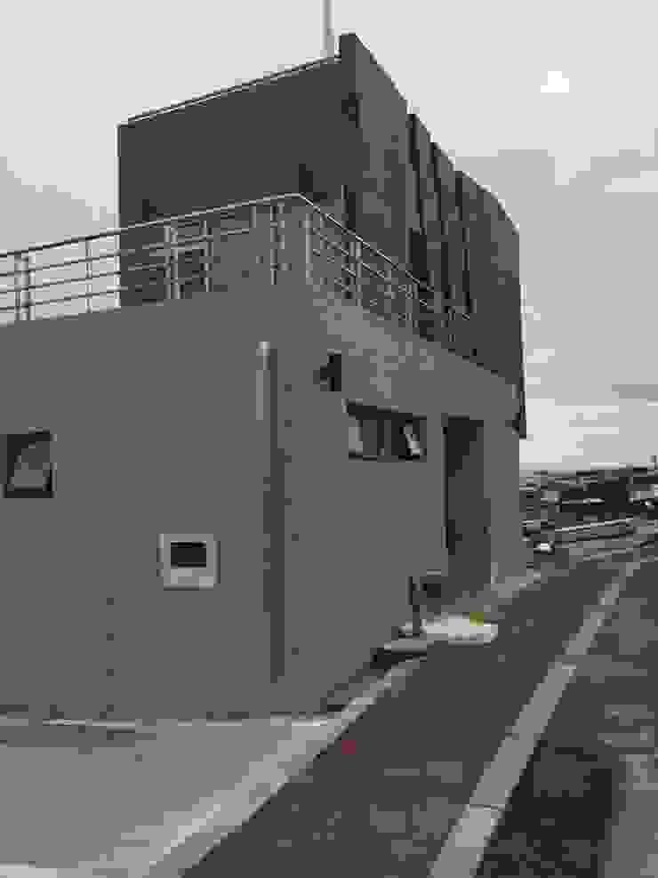 주전어촌체험마을 체험준비동 모던스타일 주택 by 건축사사무소 카안 |Architect firm KAAN 모던