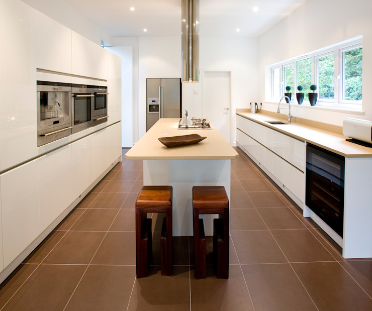 Cocinas modernas de Architect Your Home Moderno
